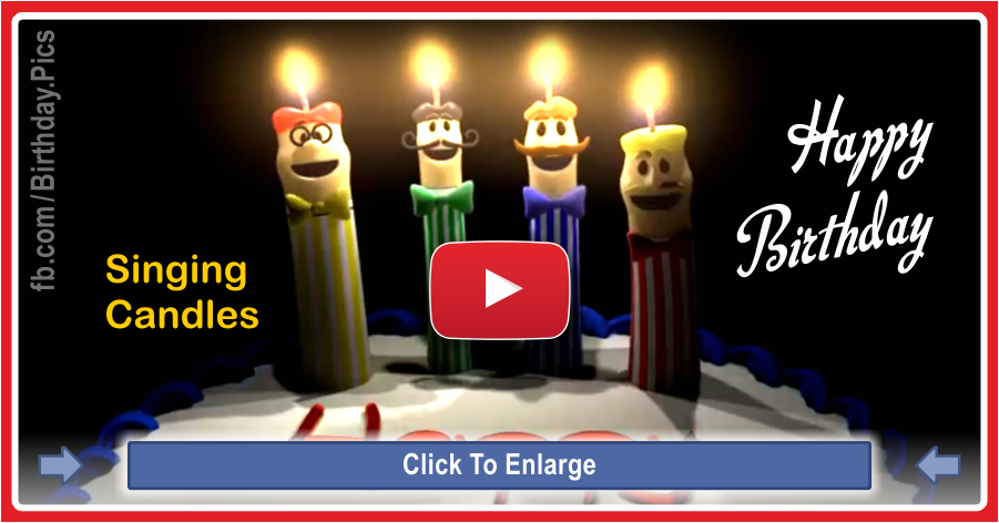 I Wish You A Very Happy Birthday Sending This Video Card With Singing Candles I Wish Funny Happy Birthday Song Happy Birthday Wishes Song Birthday Songs Video