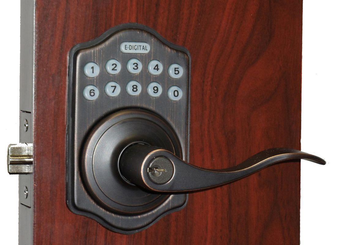 Lockey E 985 R Electronic Keypad Lever Handleset Remote Control