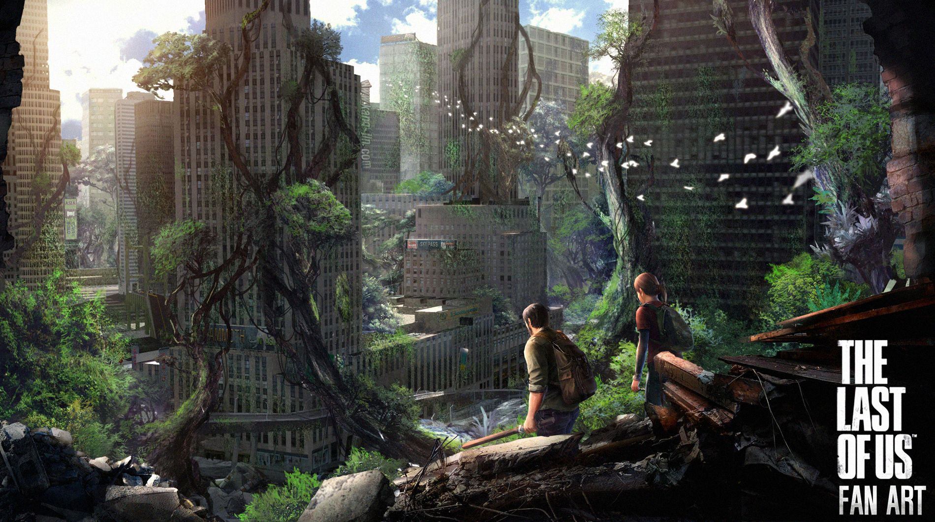 The Last Of Us Concept Art Wallpaper Google Search