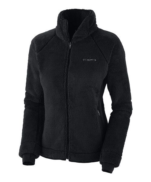 Designed for chilly days and brisk outdoor adventures, this zip-up jacket features double-plush fleece that traps sensational warmth. Thermo stretch panels, an adjustable drawcord hem and comfort cuffs ensure a personal fit while fending off the cold.