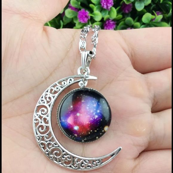 Really pretty Galaxy necklace Galaxy necklace Jewelry Necklaces