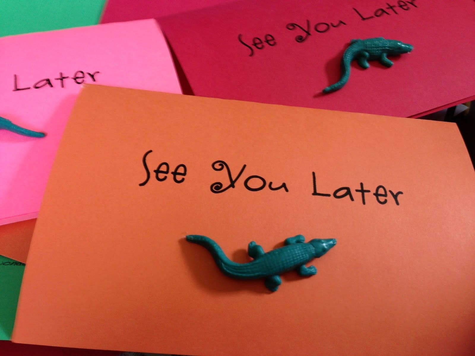 Card For Students Preschool Graduation Songs See You Later