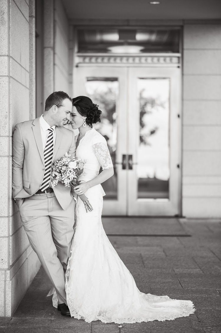 Kelsey Kevin Oquirrh Mountain Temple Wedding CouplesUnique PosesOlder