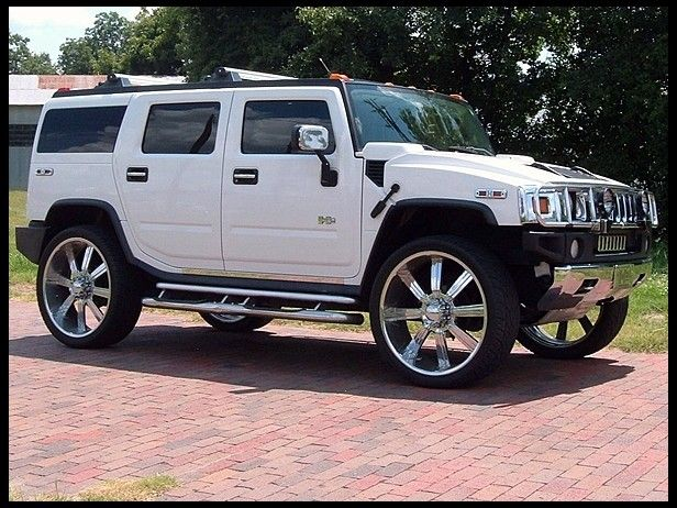 I Want This In Hot Pink With A Panther Sticker On It Hummer H2