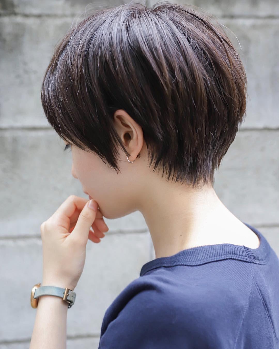 Ogaさんはinstagramを利用しています 秋風にうなじを晒して 髪を切ろう お客様カット