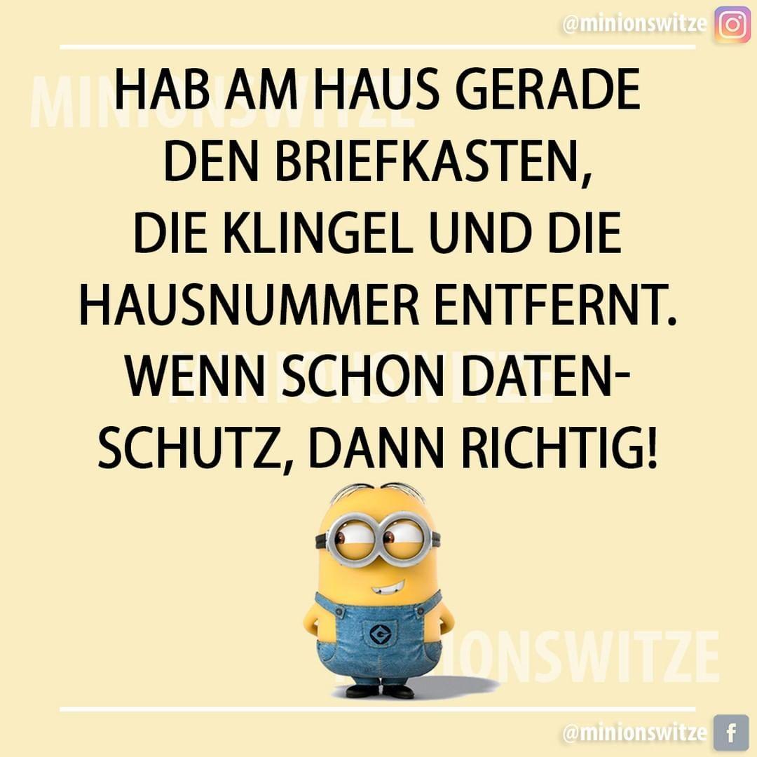 Gefallt 782 Mal 10 Kommentare Minionswitze Und Spruche Minionswitze Auf Instagram Spruchbil Minions Funny Happy Minions Minions Quotes
