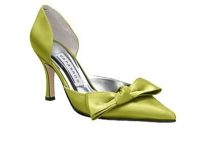 ce3efd3854972c green yellow satin wedding shoes