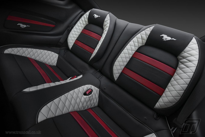 Fabulous Ford Mustang Bespoke Leather Interior Custom Car Interior Beatyapartments Chair Design Images Beatyapartmentscom