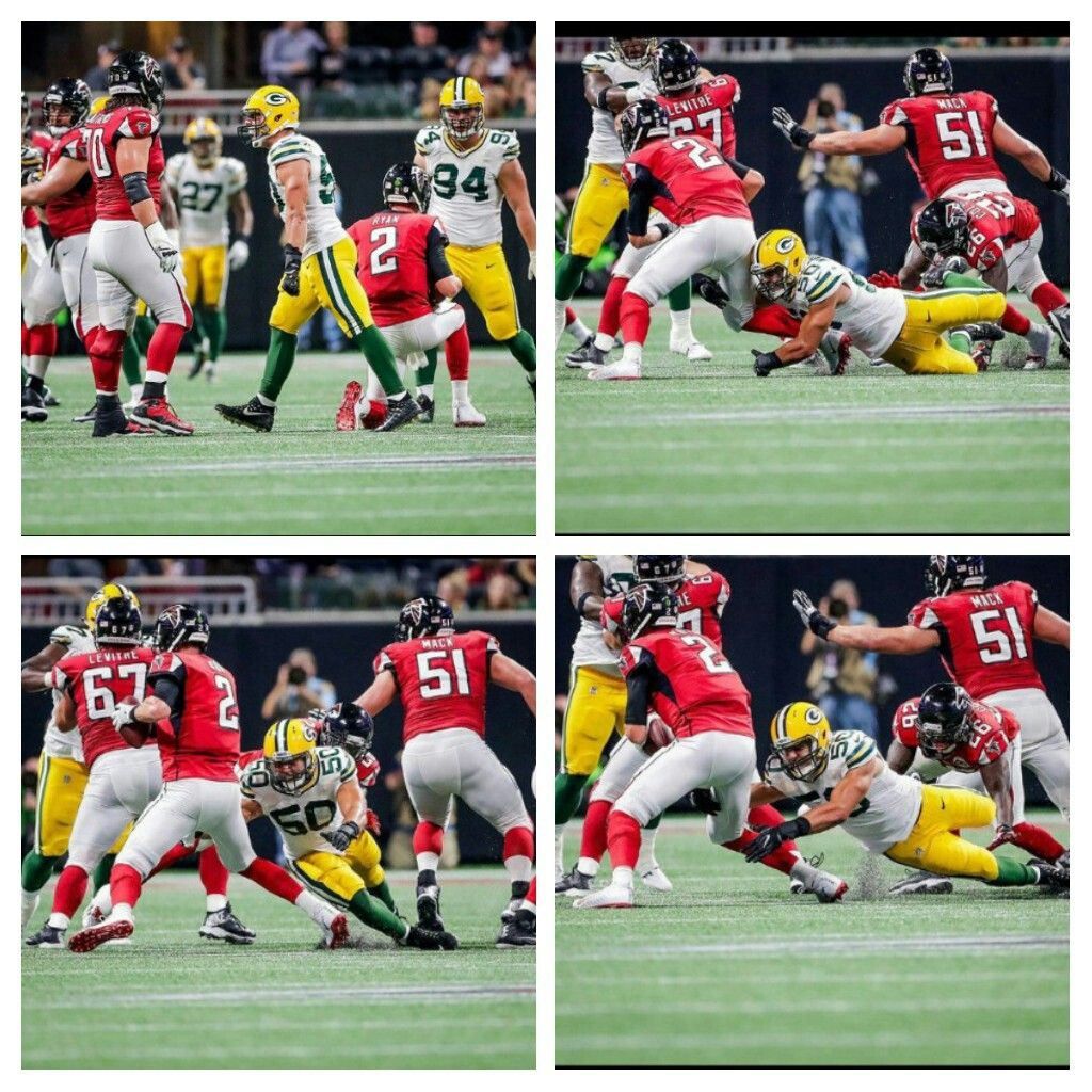 Martinez Grabin A Sack Vs Falcons Packers Baby Sack Falcons