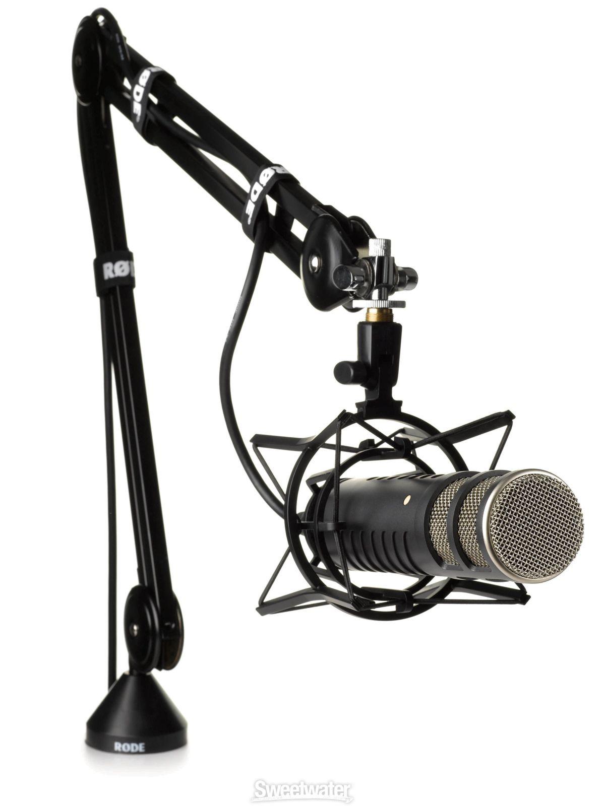 Rode Psa1 Desk Mounted Broadcast Microphone Boom Arm Microphone Recording Studio Design Recording Studio Home