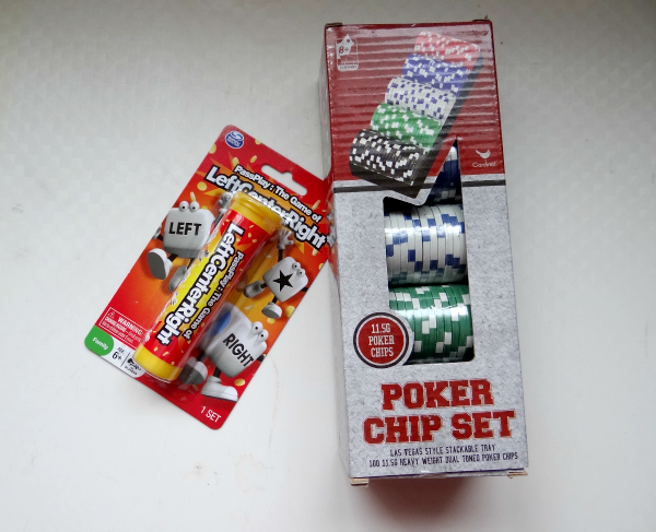 The Quilters Dice Game Games, Dice games, Poker chips set