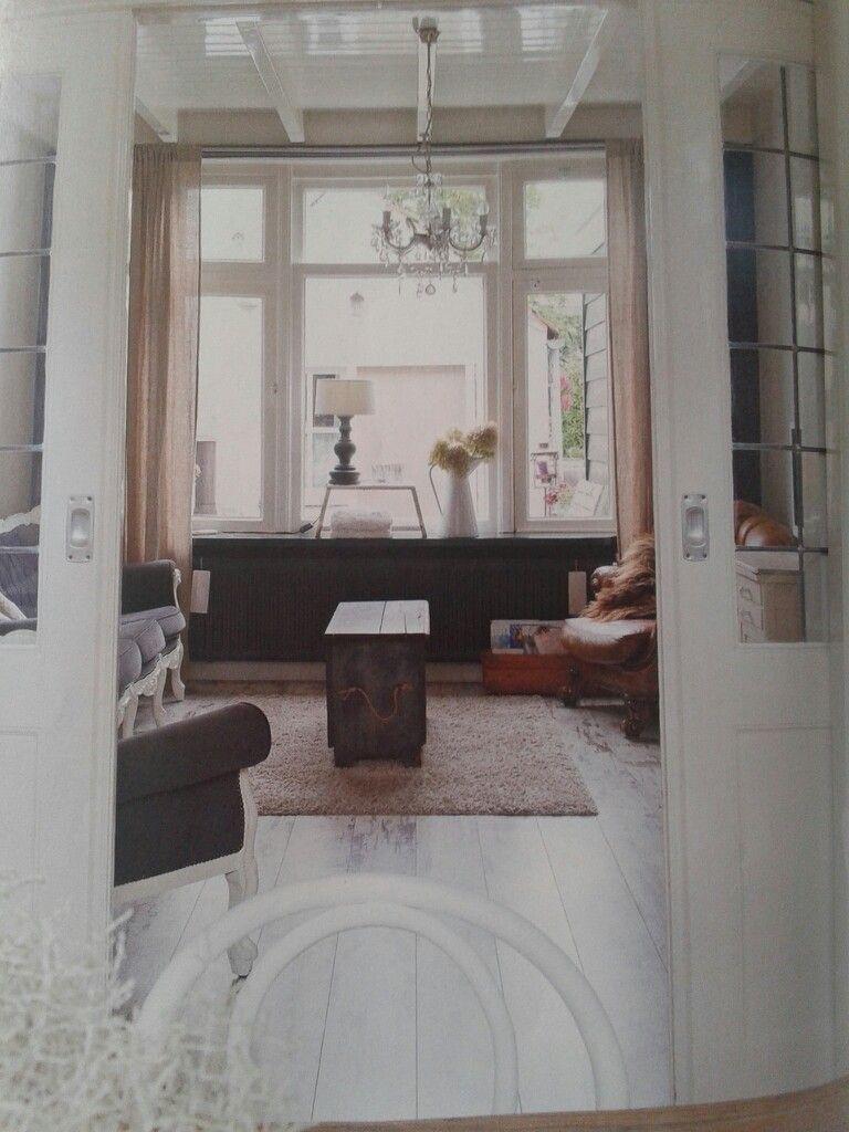En suite woonkamer