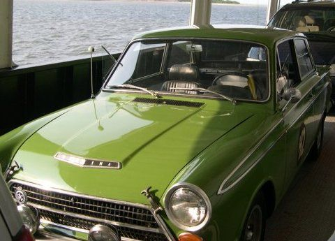 1964 Ford Cortina GT Front