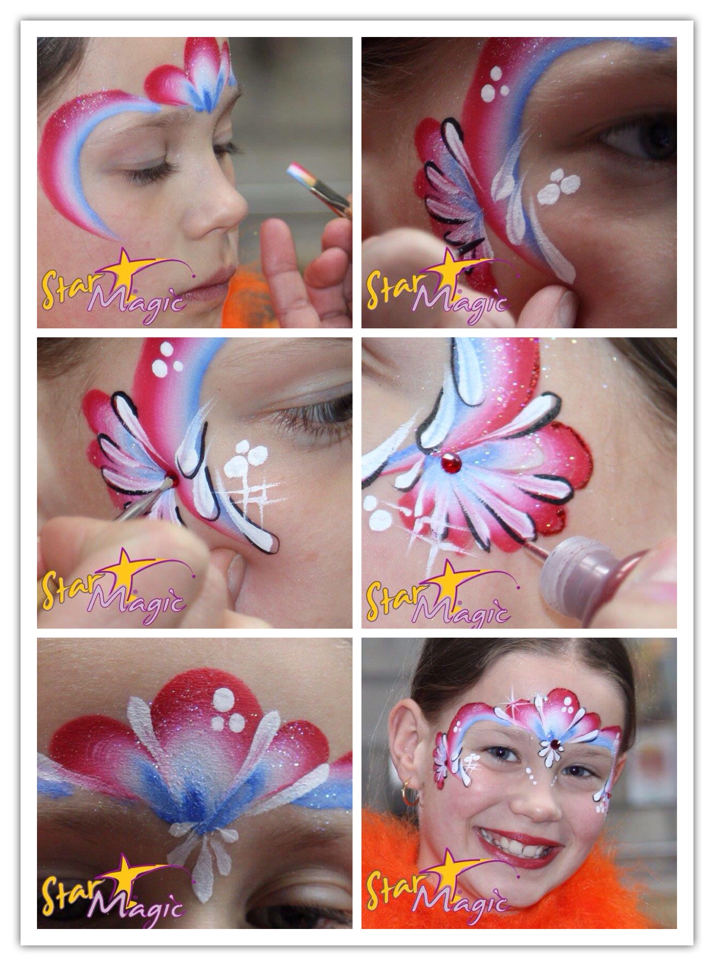 Verwonderlijk 110 Best Face Painting 4th of July images in 2020 | Face painting RI-26
