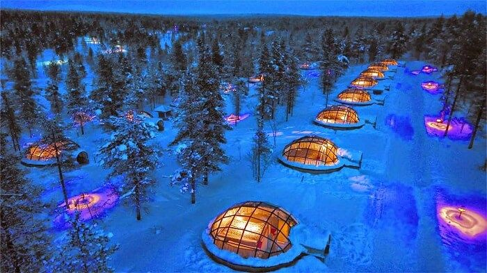 Chasing The Northern Lights From Gl Igloos
