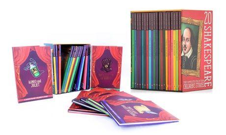 Books or Audiobook CDs with Shakespeare Children's Stories from AED 129  20-Pk Shakespeare Children's Stories  #Books #BooksChildrens #DailyDeals #Entertainment #Games #Groupon #HRINTERNATIONAL #Media #MerchandisingAE #Miscellaneous #EntertainmentOffers #Miscellaneous #UAEdeals #DubaiOffers #OffersUAE #DiscountSalesUAE #DubaiDeals #Dubai #UAE #MegaDeals #MegaDealsUAE #UAEMegaDeals  Offer Link: https://discountsales.ae/miscellaneous/books-or-audiobook-cds-with-shakes