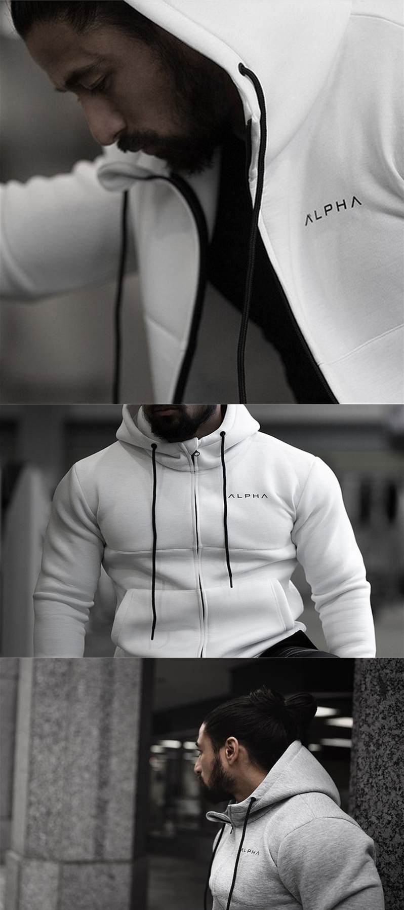 Autumn Newest Fitness Men Hoodies Sweatshirt Gyms Bodybuilding Hoody Zipper Casual Sweatshirt Men S Slim Fit Mens Sweatshirts Hoodie Mens Outfits Slim Fit Men [ 1796 x 798 Pixel ]