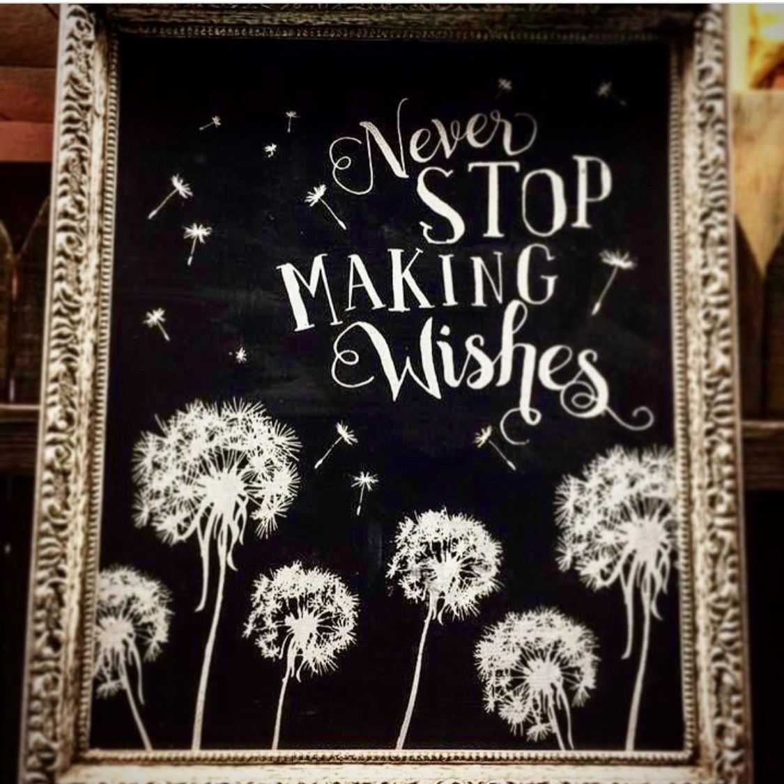 Gorgeous chalkboard make your own with the chalk couture for Own the couture