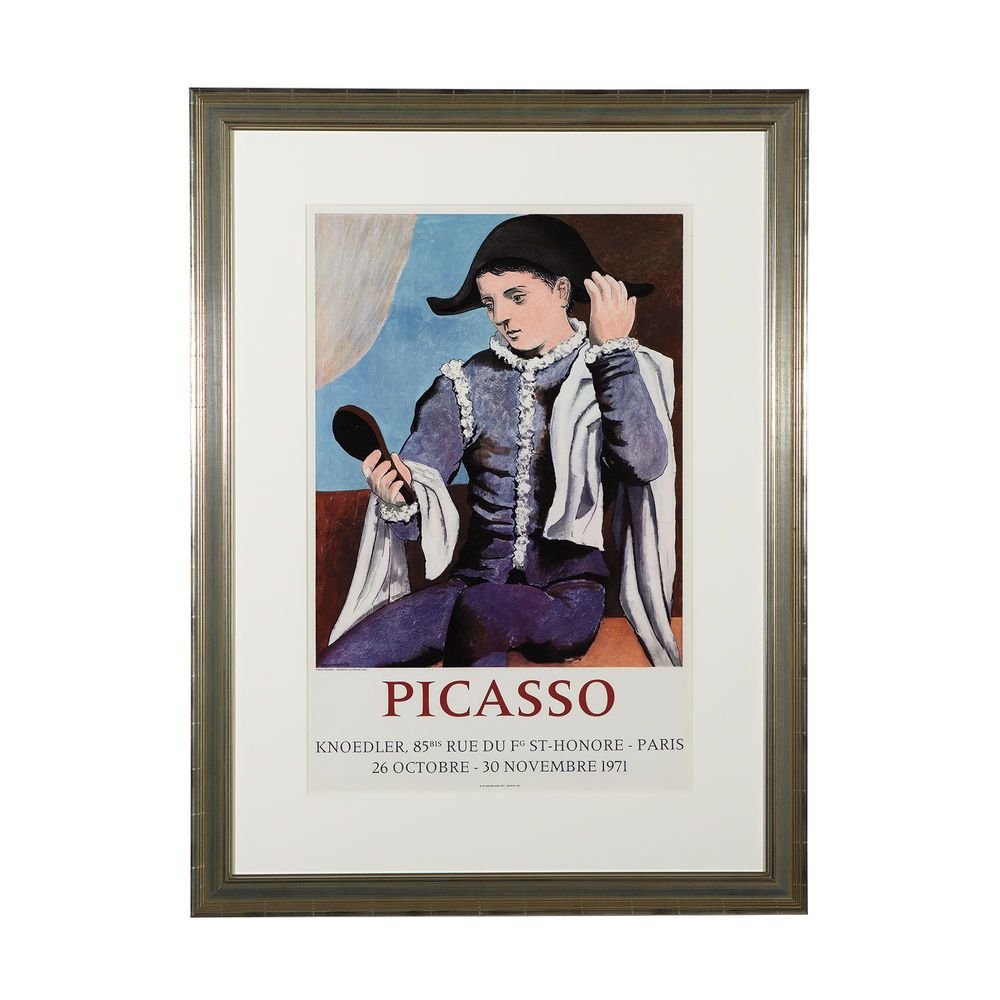 """Ethan Allen Natick: """"Galerie Knoedler"""" By: Pablo Picasso Dimension:31.25""""w X"""