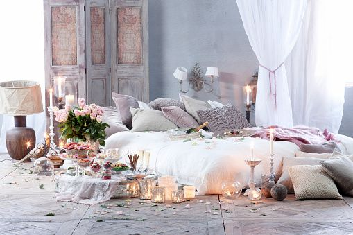 romantic meal in bedroom bedding in 2019 romantic bedroom decor rh pinterest com