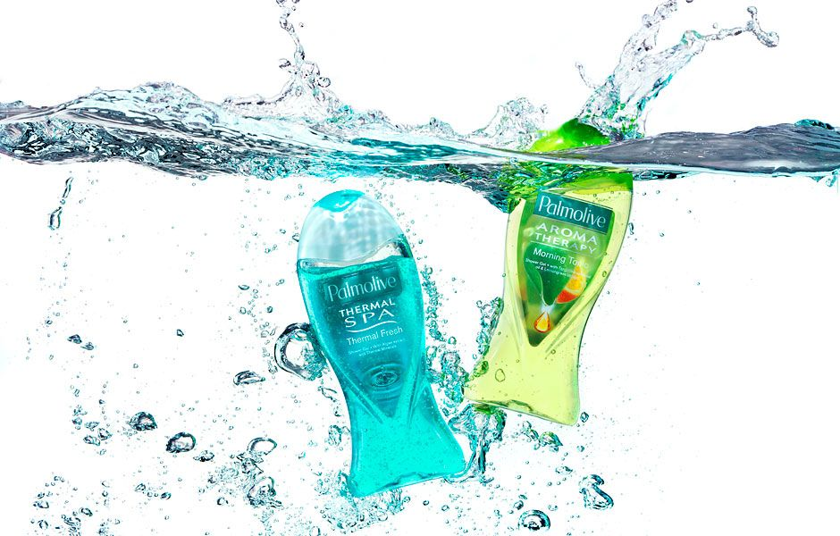 This Ad Is For Shower Gel A Good Because The Associated With Water Fast Shutter Speed Has Been Used To Freeze In Motion Which
