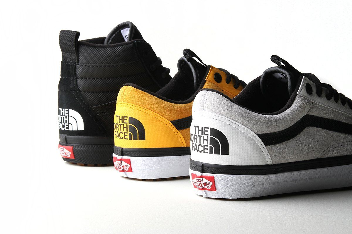 the north face scarpe vans