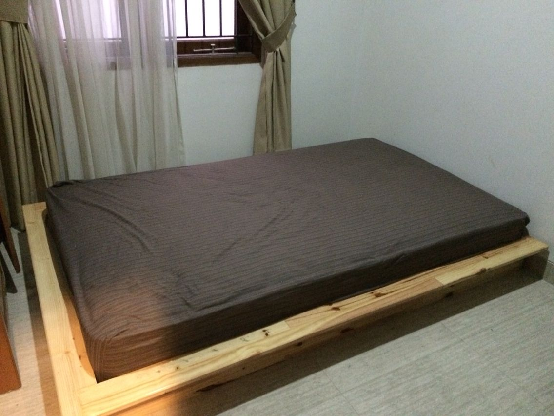 Diy Single Bed Frame For Guest Bedroom Designed And Created By