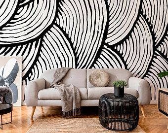 Peel And Stick Wallpaper Etsy In 2020 Wall Wallpaper Removable Wallpaper Peel And Stick Wallpaper