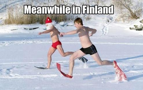 Mean while in Finland... Me ollaan ihan tavallinen kansa! – 10 harrastusta suoraan Suomesta | Vivas