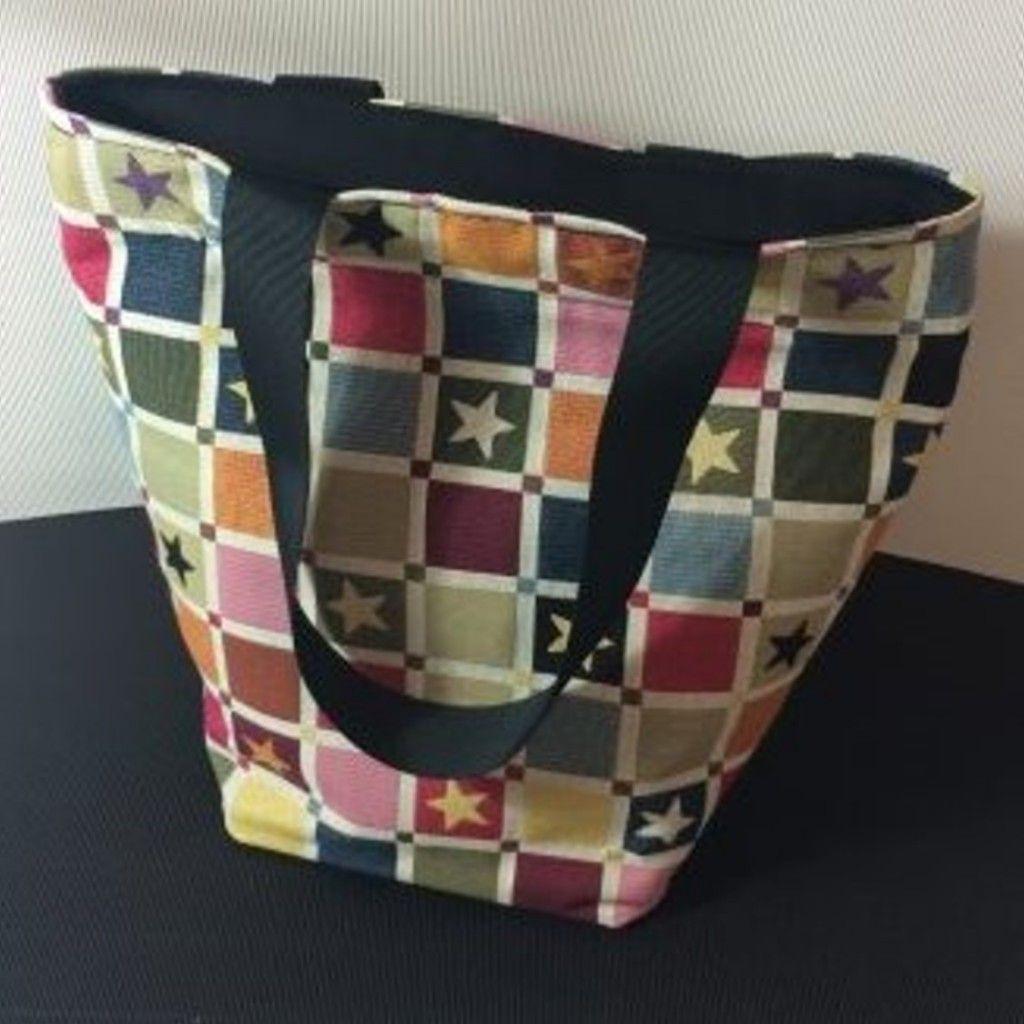 Shopper Doris | Nähen | Pinterest | Nähen, Schnittmuster tasche und ...
