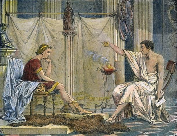 Image result for alexander the great aristotle