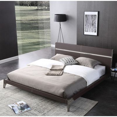 Online Bedroom Design Extraordinary Wade Logan Amersfort Platform Bed Size Queen  Products Review