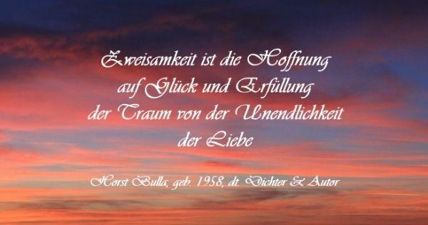 Bildzitat von Horst Bulla   Zitat