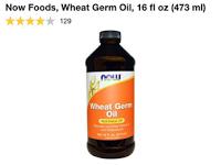 زيت جنين القمح الاصلي من اي هيرب Dish Soap Bottle Now Foods Oils