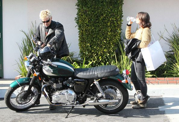 Billy Idol was recently spotted next to his triumph