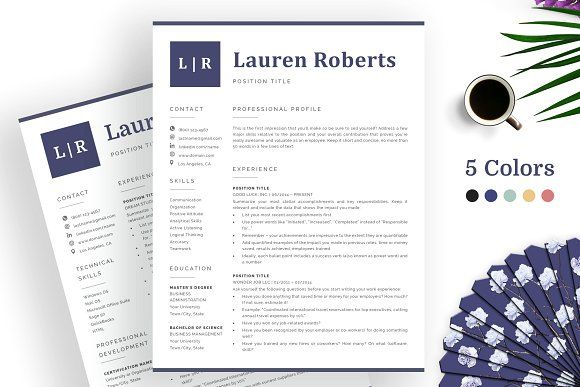 Top Resume Templates 2018 By Templatehippo On Creativemarket