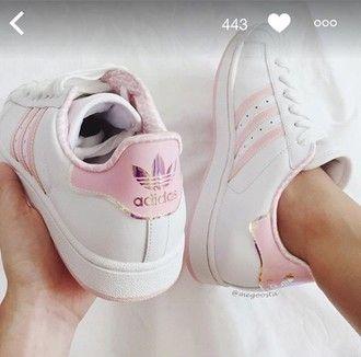 adidas superstar rose pale