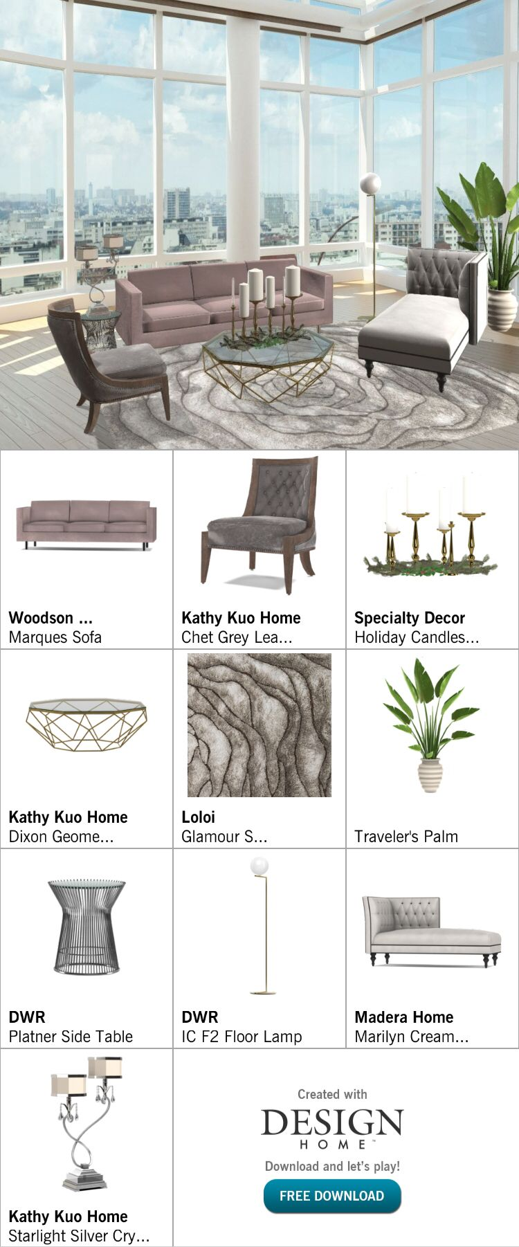 Created with Design Home! | Interior Design Game | Pinterest ...
