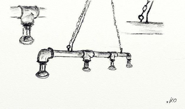 """Hängelampen - Designer Leuchte """"ODIN"""" Industriedesi... - ein Designerstück von Industrial-KO-Design bei DaWanda"""