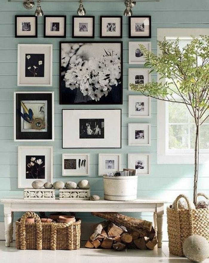 ▷ 1001+ Ideen Für Fotowand   Interessante Wandgestaltung | Vorschläge Für  Wandgestaltung | Pinterest | Hellblaue Wände, Fotocollagen Und Fotowand