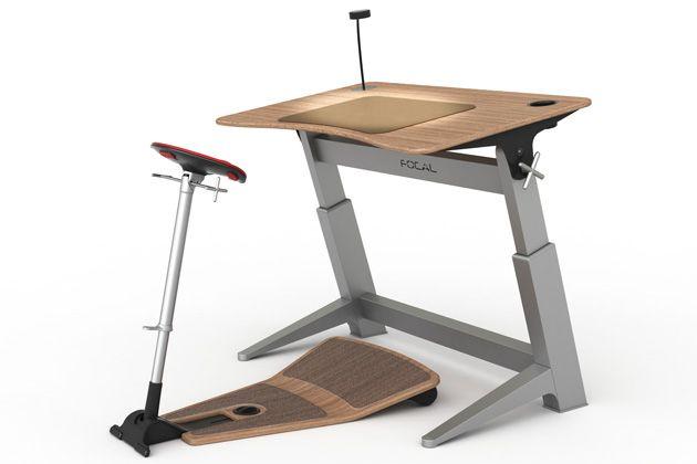 Office Upgrade Half Standing Half Sitting Workstation Ergonomic Desk Chair Desk Chair Diy Standing Desk Chair