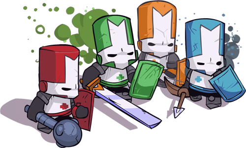 Castle Crashers Serves Up New Content On The Ps3 Castle Crashers Nerd Humor Geek Games