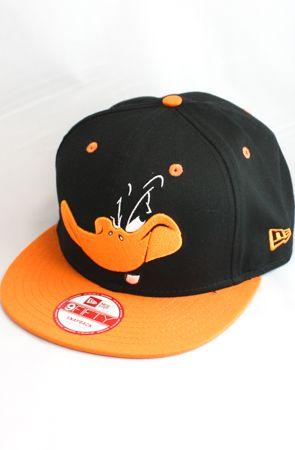 Daffy Duck Snapback Hat (Black Orange) by 123SNAPBACKS use rep code  OLIVE  for 20% off! c725e968864
