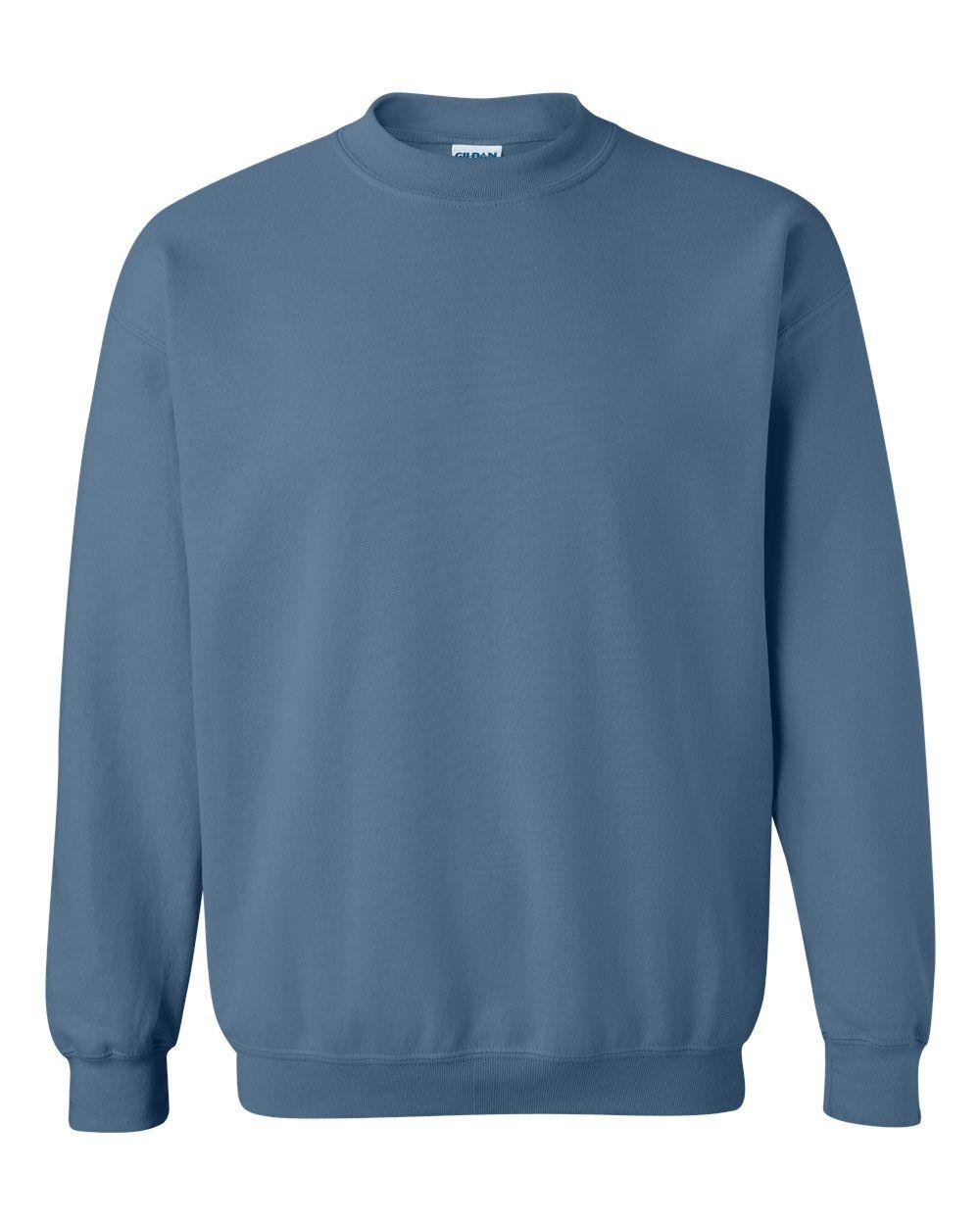 Gildan Heavy Blend Crewneck Sweatshirt 18000 In 2021 Sweatshirts Crew Neck Sweatshirt Gildan Sweatshirts [ 1250 x 1000 Pixel ]