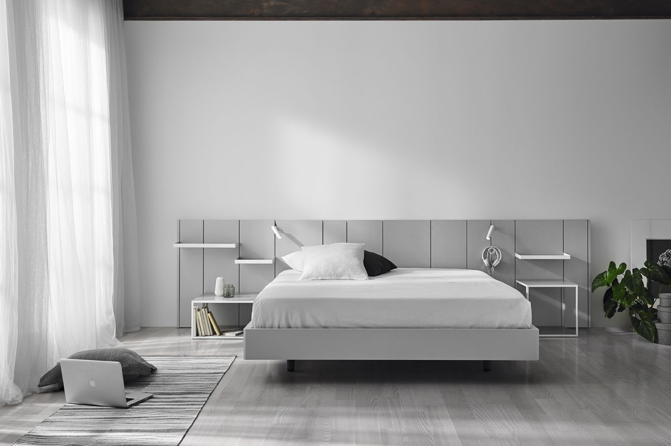 Pars bed by Carlos Tíscar - Mobenia Home || #headboard #light ...