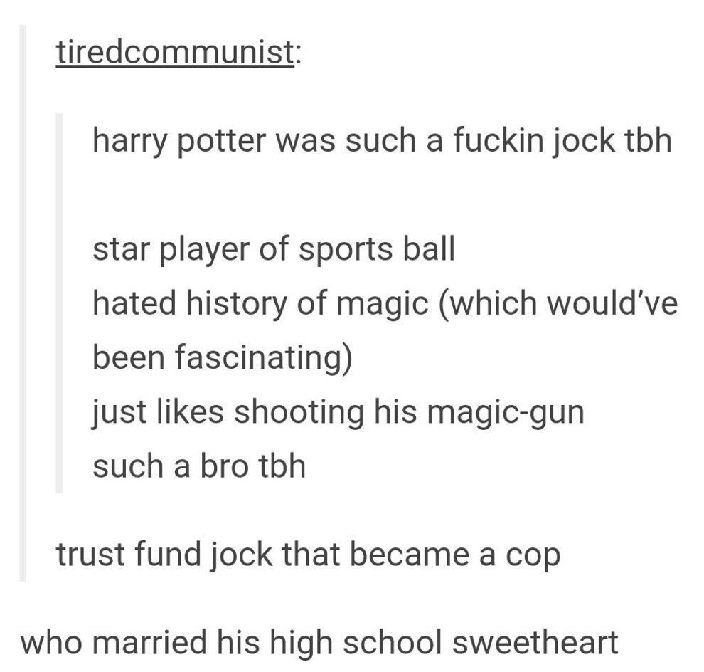 "Photo of 18 Hilarious Tumblr Posts About ""Harry Potter""-#about #harry #hilarious #posts #…"