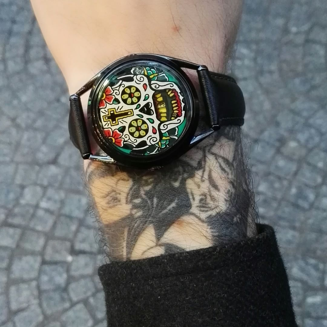 Mr Jones Watches Et Sa Montre The Last Laugh Tattoo Edition