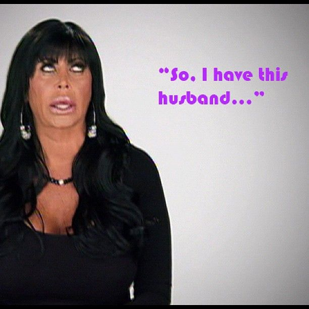 """So, I have this husband..."" - #BigAng #MobWives"