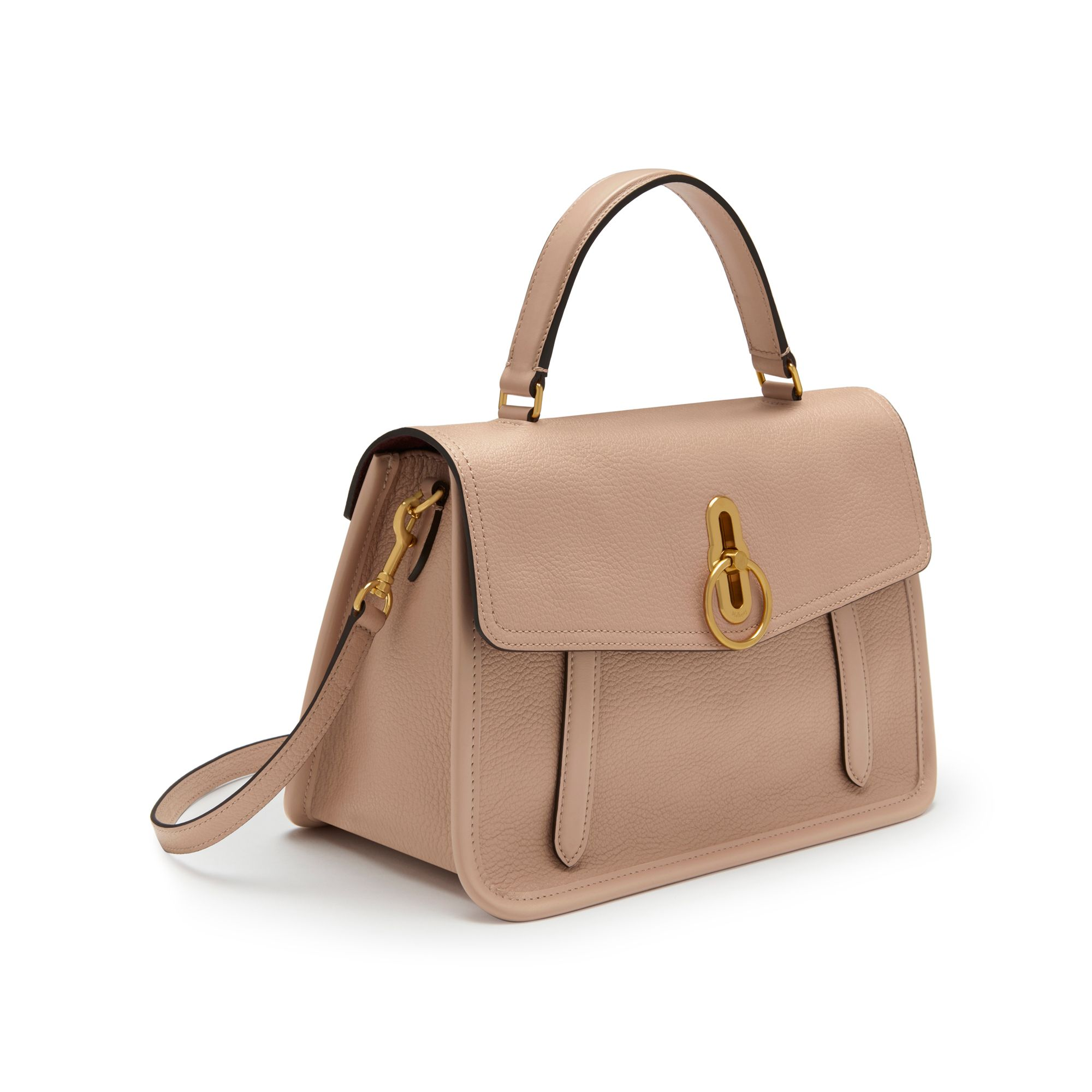 Shop the Gracy Satchel in Rosewater Goat  amp  Smooth Calf Leather at  Mulberry.com 264934f52c760