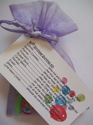 50th Birthday Girl Survival Kit Novelty Fun By Honeybeeblessings